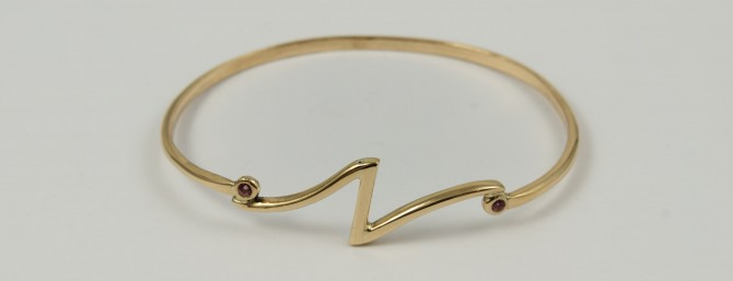 handcrafted bangle