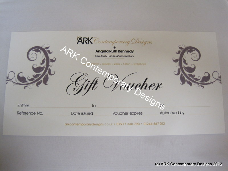 Gift voucher two to one tution
