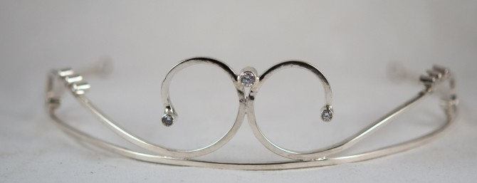 handcrafted tiara
