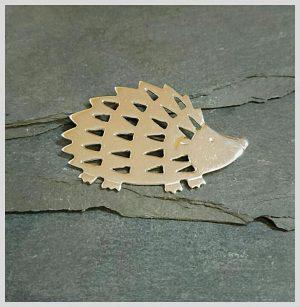 Silver hedgehog