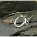 silver-emerald-bangle